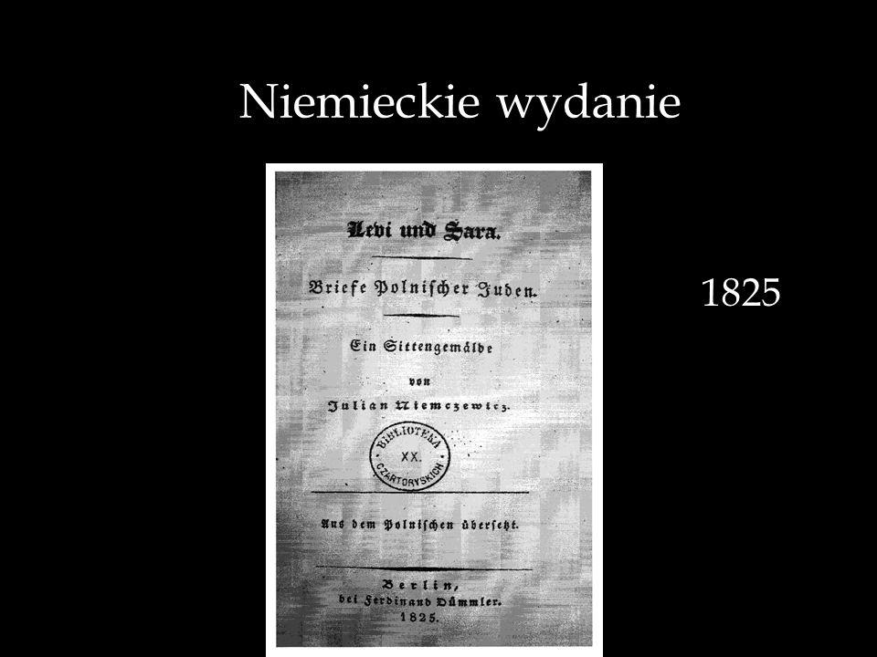 Niemieckie wydanie 1825