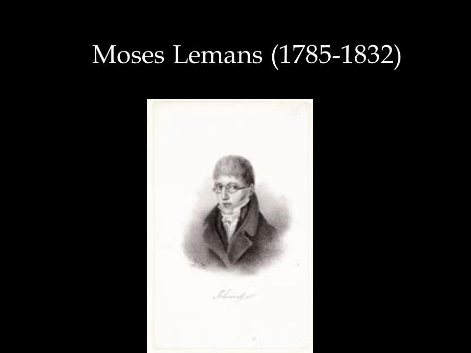 Moses Lemans (1785-1832)