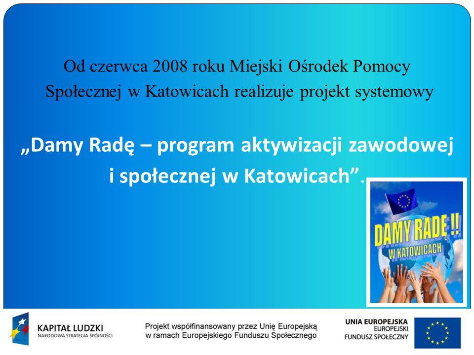 """""""Damy Radę – program aktywizacji zawodowej"""