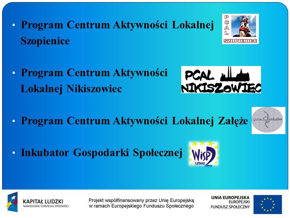 Program Centrum Aktywności Lokalnej