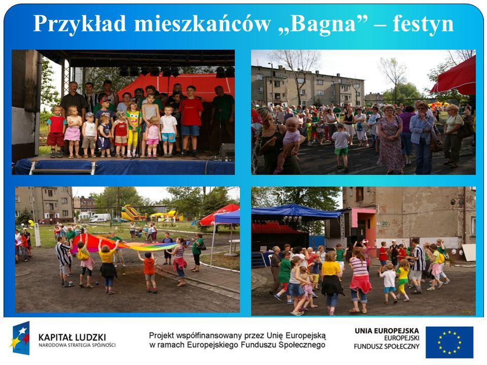 """Przykład mieszkańców """"Bagna – festyn"""