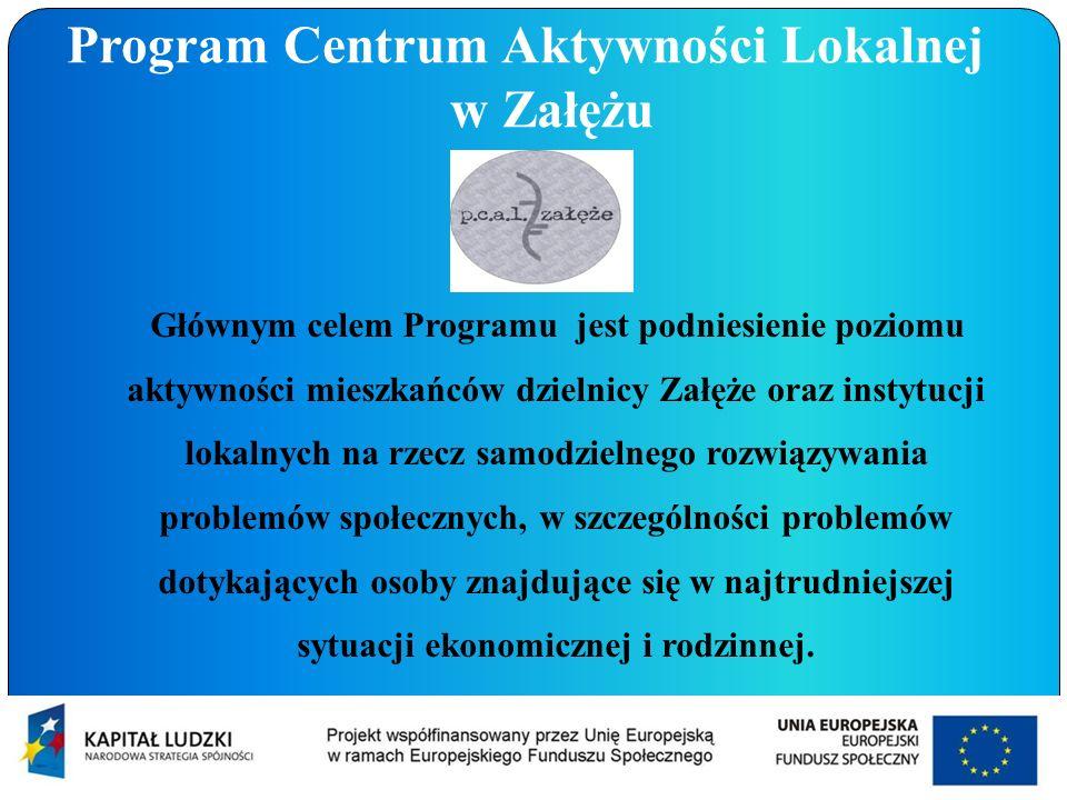 Program Centrum Aktywności Lokalnej w Załężu