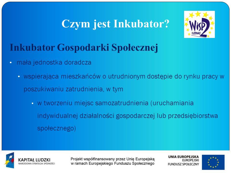 Czym jest Inkubator Inkubator Gospodarki Społecznej