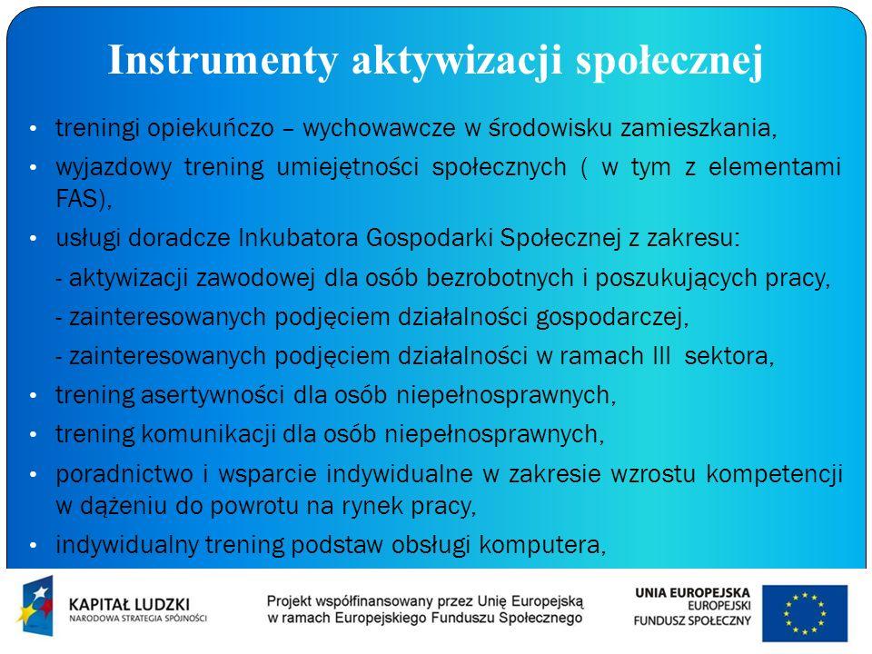 Instrumenty aktywizacji społecznej