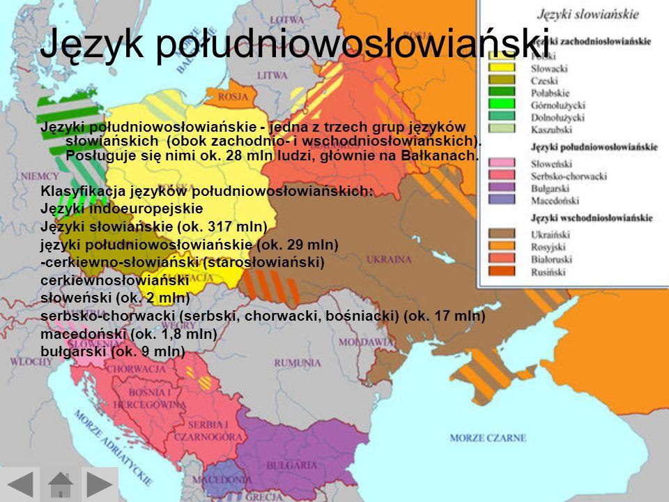 Język południowosłowiański