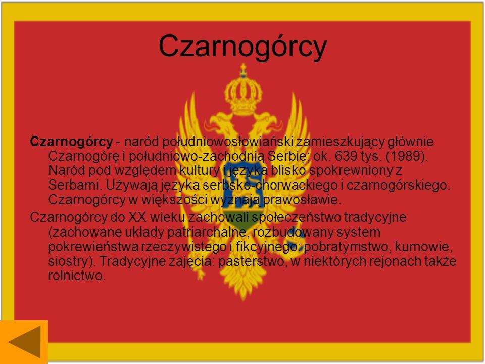 Czarnogórcy