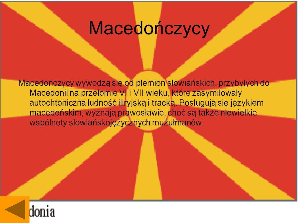 Macedończycy
