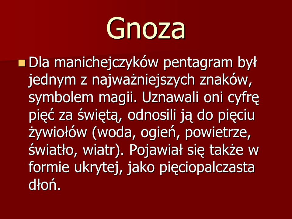 Gnoza