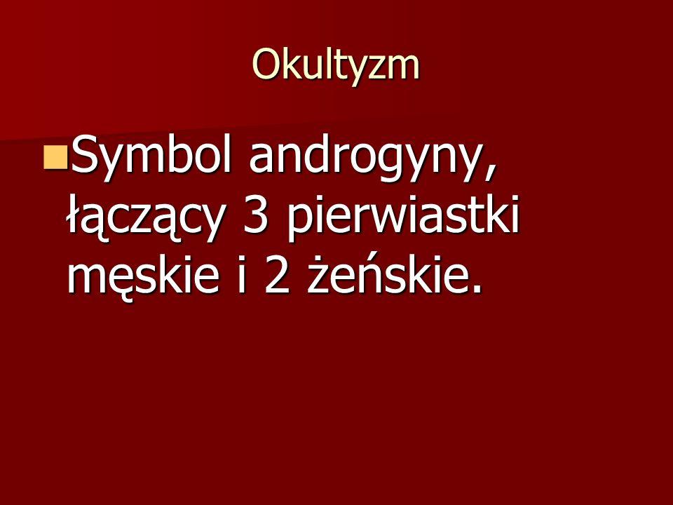 Symbol androgyny, łączący 3 pierwiastki męskie i 2 żeńskie.