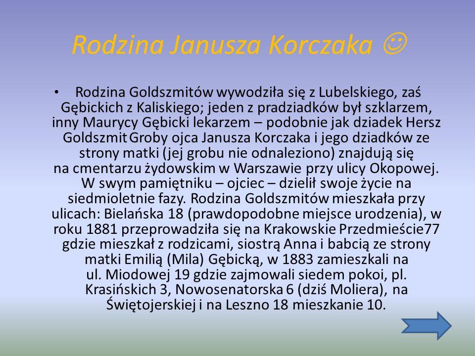 Rodzina Janusza Korczaka 