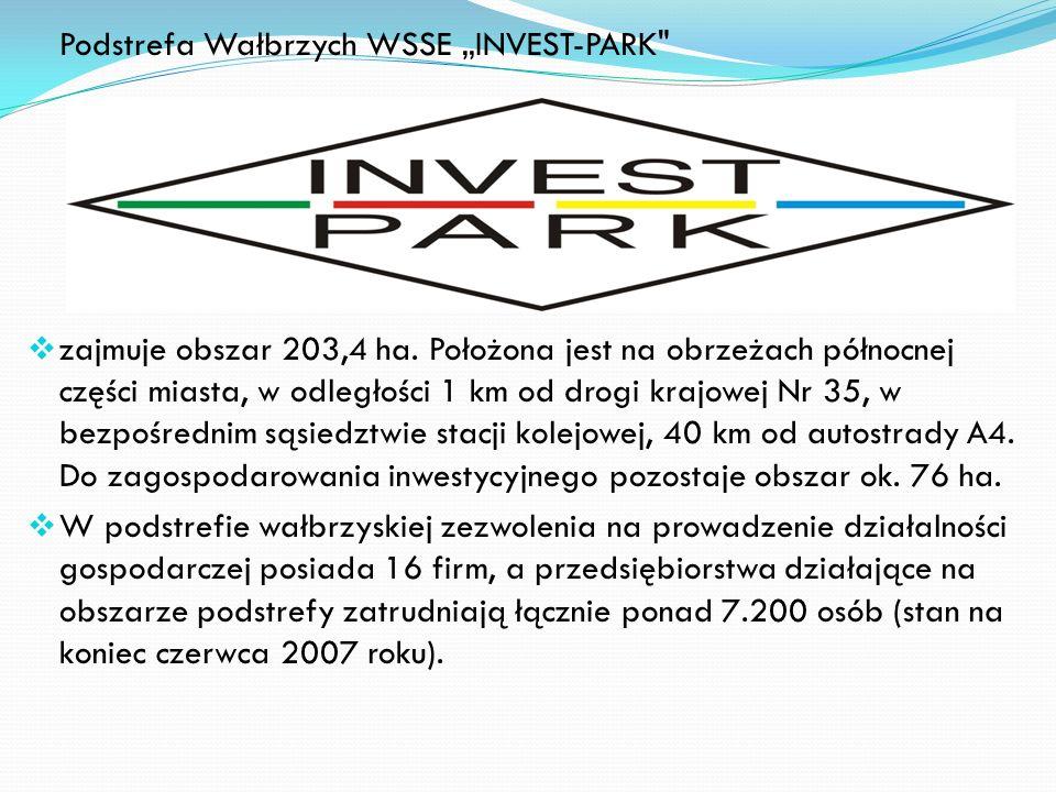 """Podstrefa Wałbrzych WSSE """"INVEST-PARK"""
