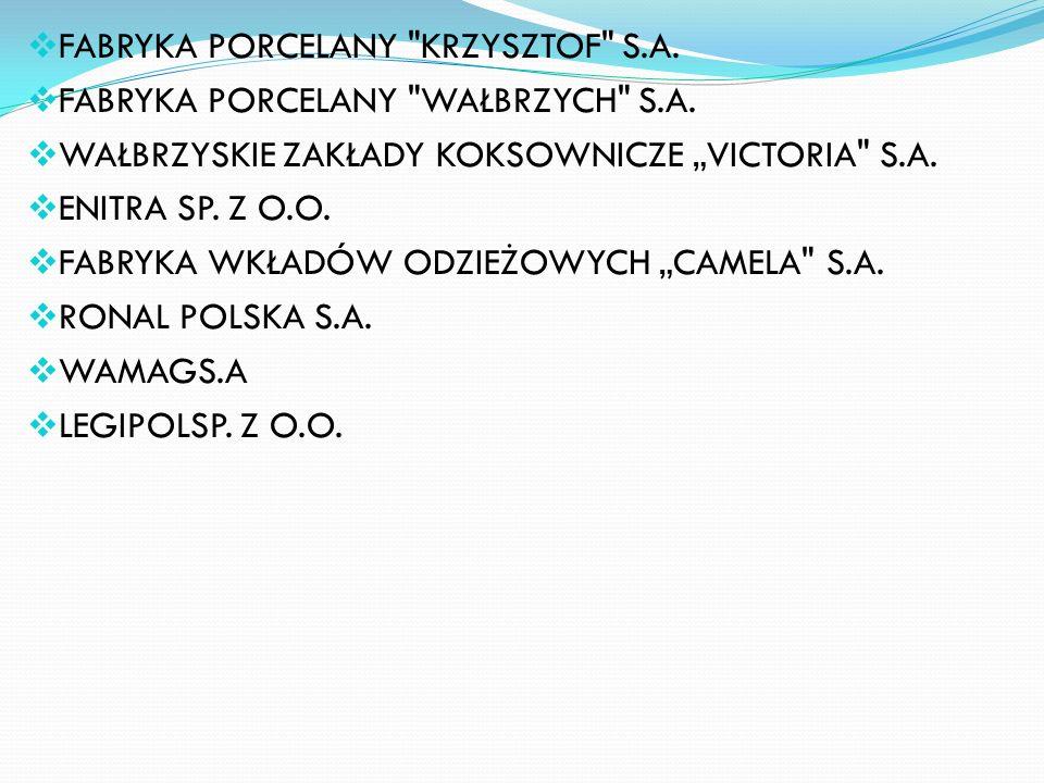 FABRYKA PORCELANY KRZYSZTOF S.A.
