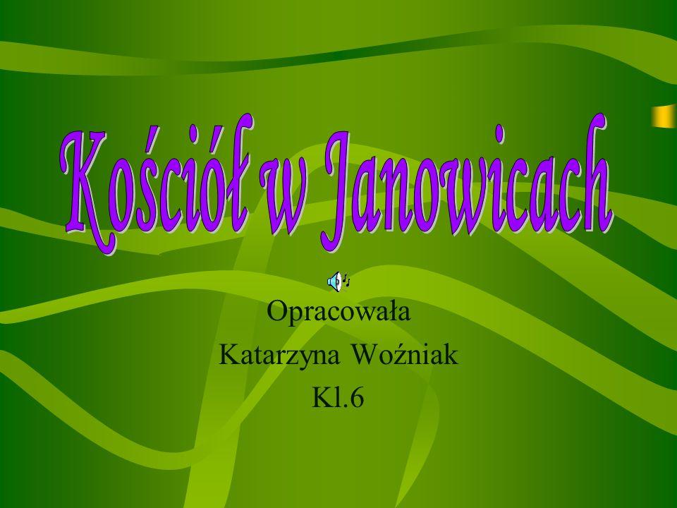 Opracowała Katarzyna Woźniak Kl.6