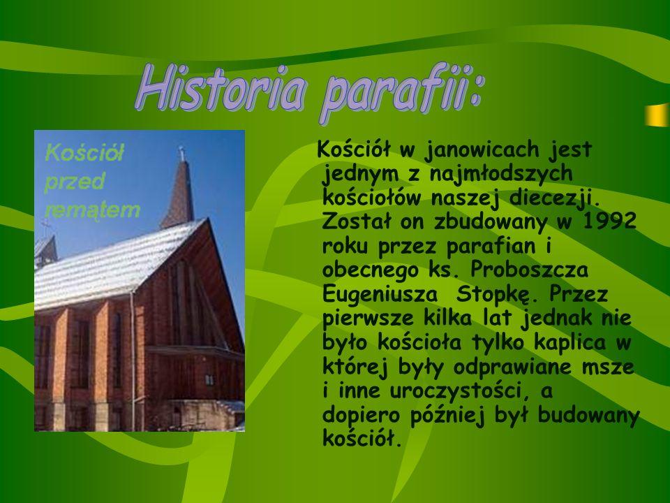 Historia parafii: