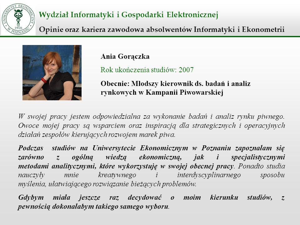 Wydział Informatyki i Gospodarki Elektronicznej