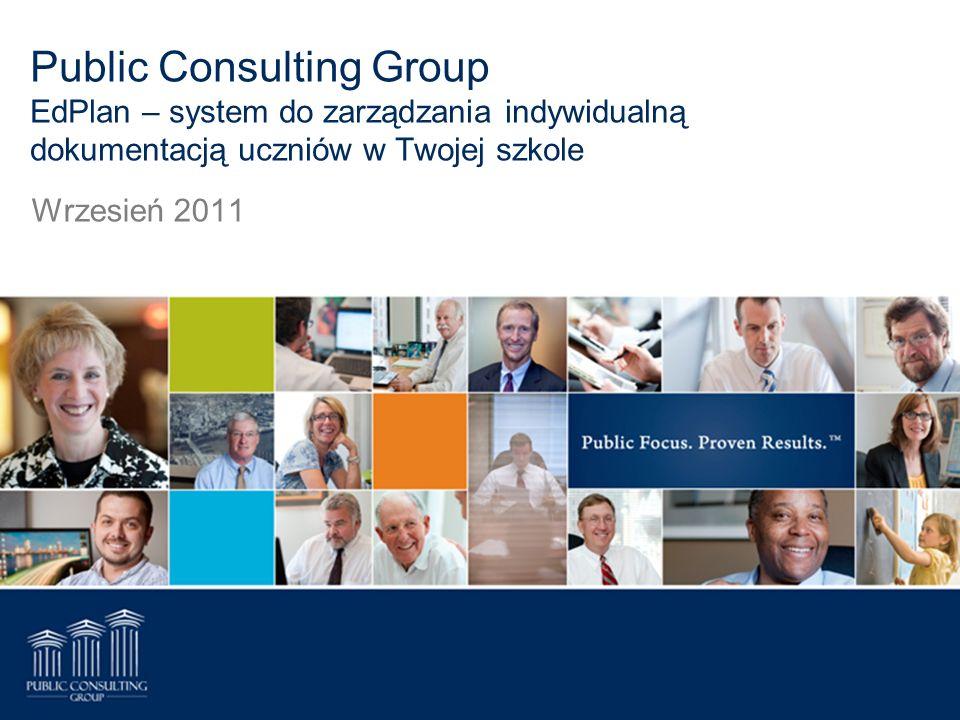 Public Consulting Group EdPlan – system do zarządzania indywidualną dokumentacją uczniów w Twojej szkole