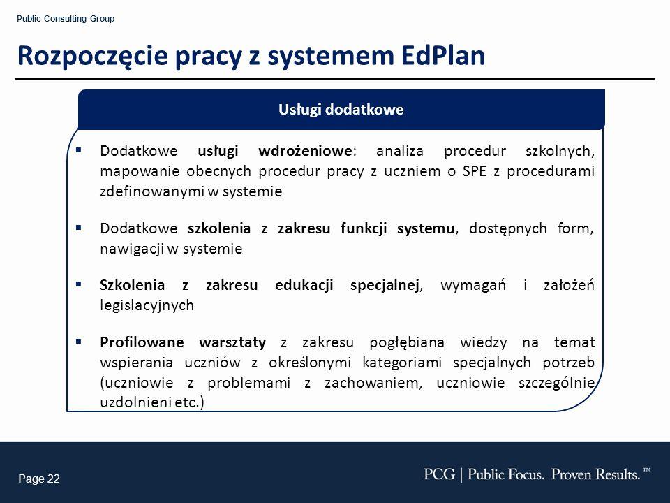 Rozpoczęcie pracy z systemem EdPlan
