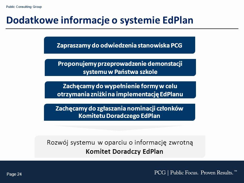 Dodatkowe informacje o systemie EdPlan
