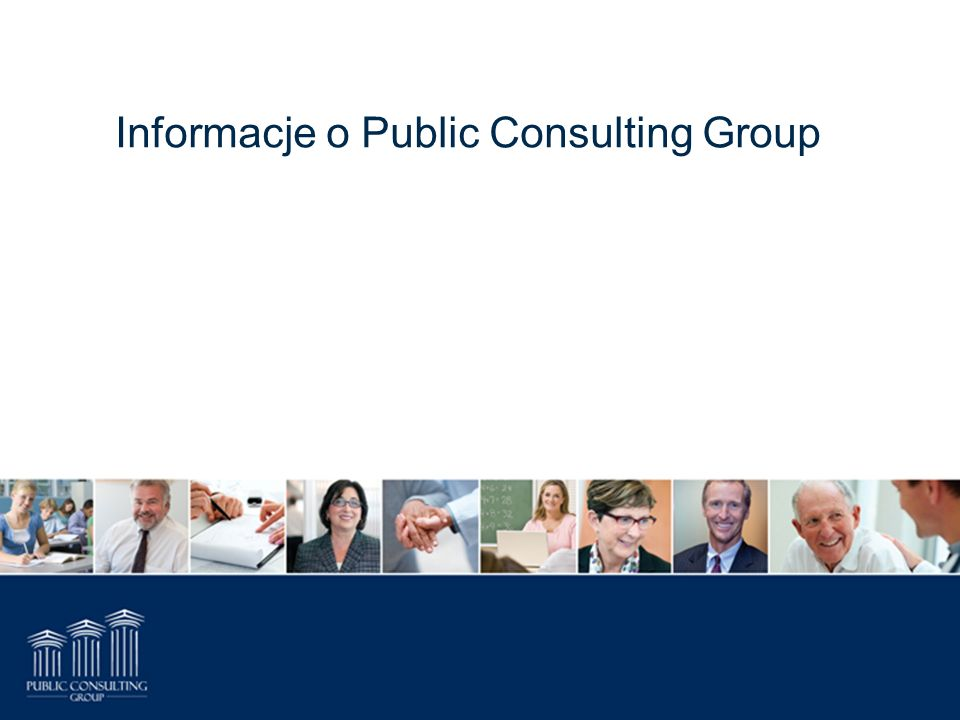 Informacje o Public Consulting Group