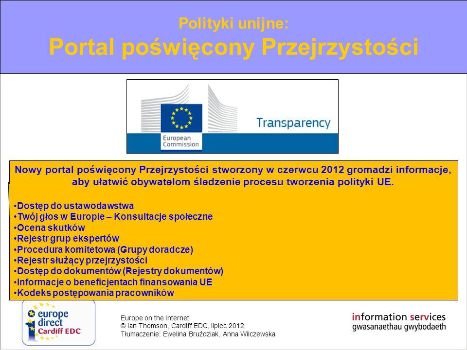 Portal poświęcony Przejrzystości