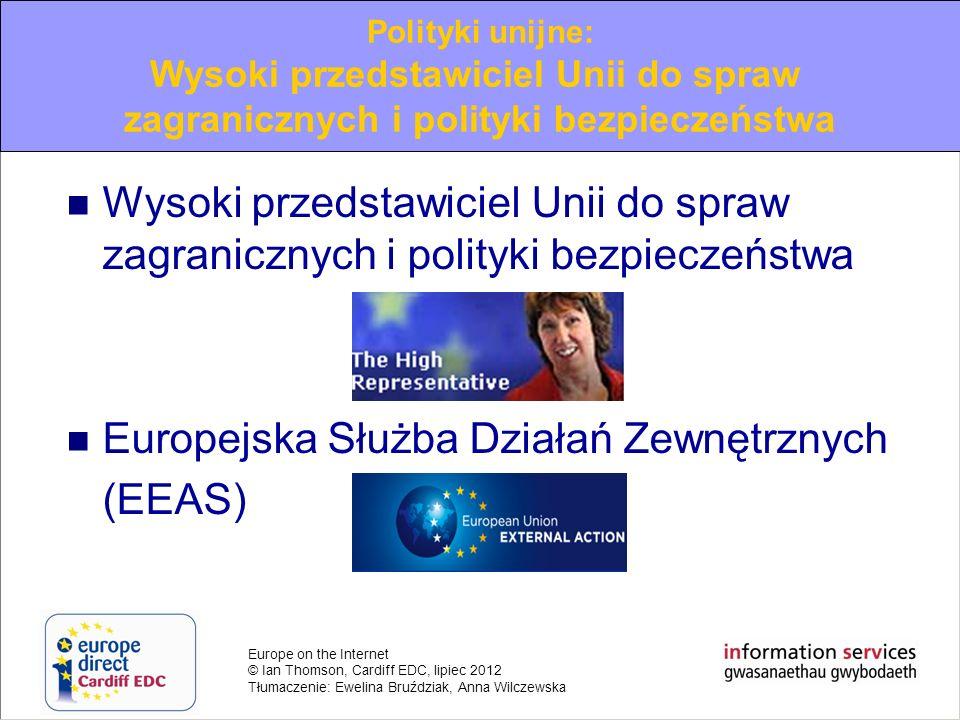 Europejska Służba Działań Zewnętrznych (EEAS)