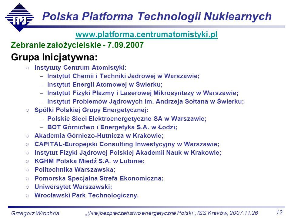 Polska Platforma Technologii Nuklearnych