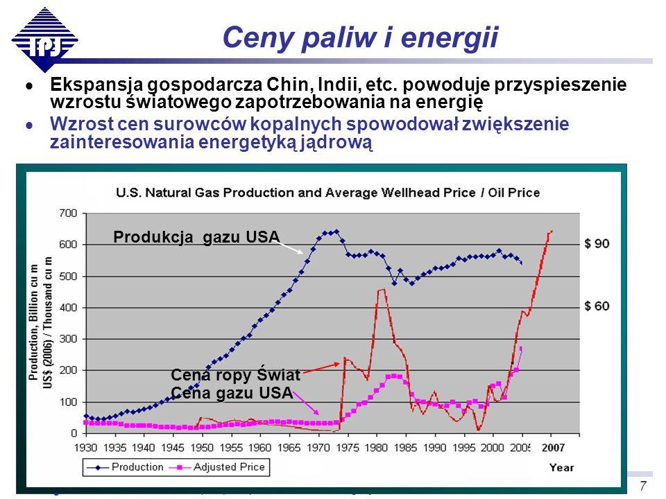 """""""(Nie)bezpieczeństwo energetyczne Polski , ISS Kraków, 2007.11.26"""