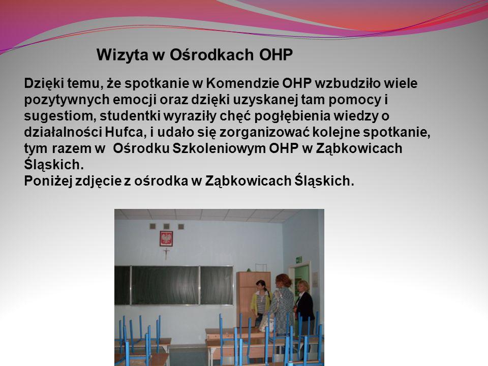 Wizyta w Ośrodkach OHP