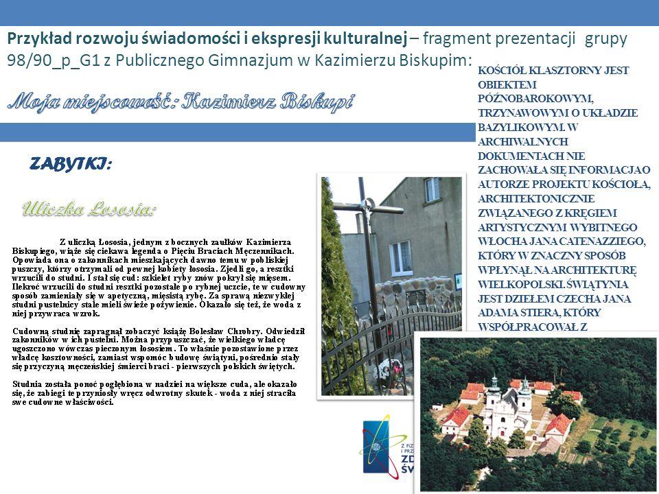 Moja miejscowość: Kazimierz Biskupi