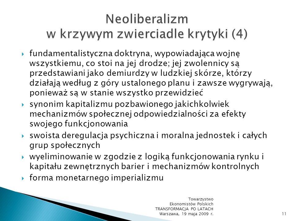 Neoliberalizm w krzywym zwierciadle krytyki (4)