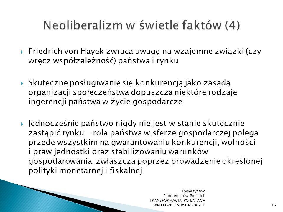 Neoliberalizm w świetle faktów (4)