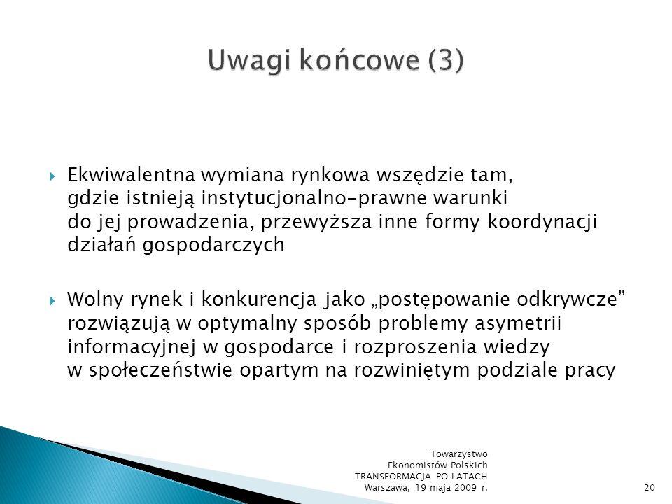 Uwagi końcowe (3)