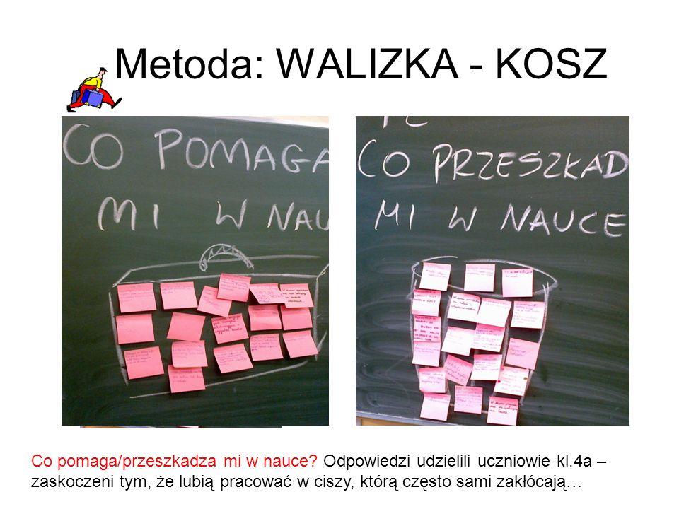 Metoda: WALIZKA - KOSZ