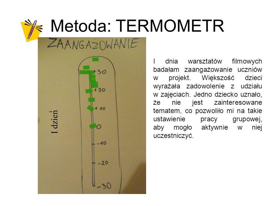 Metoda: TERMOMETR