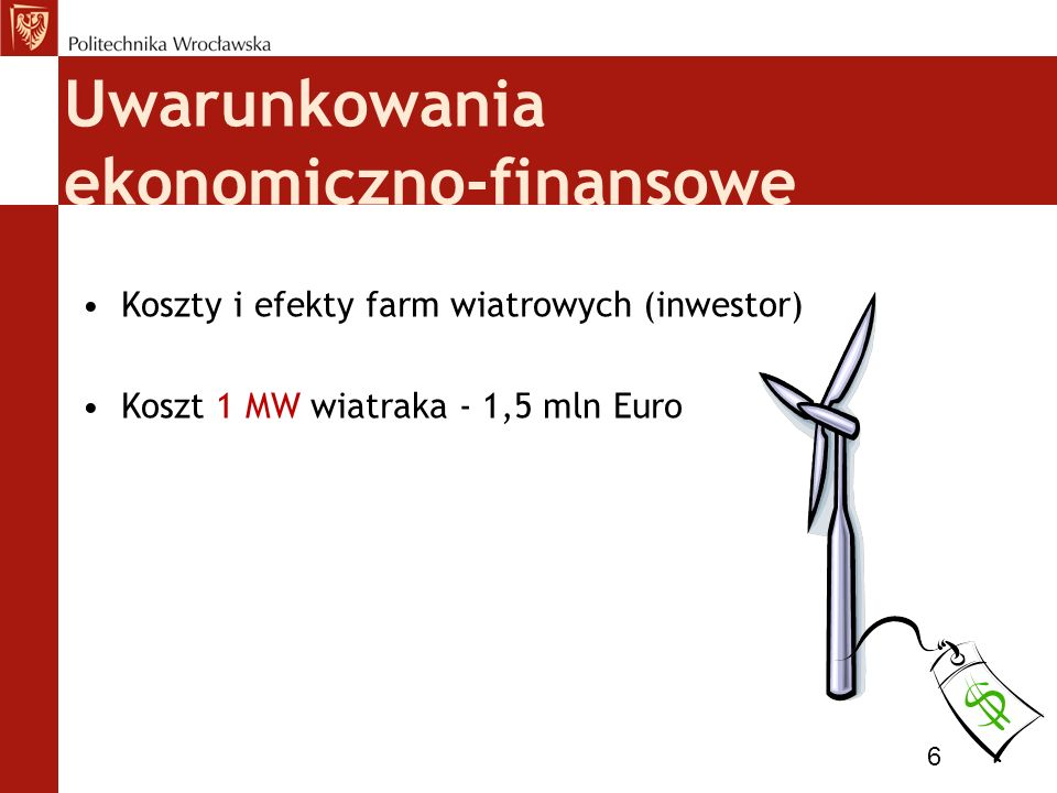 Uwarunkowania ekonomiczno-finansowe