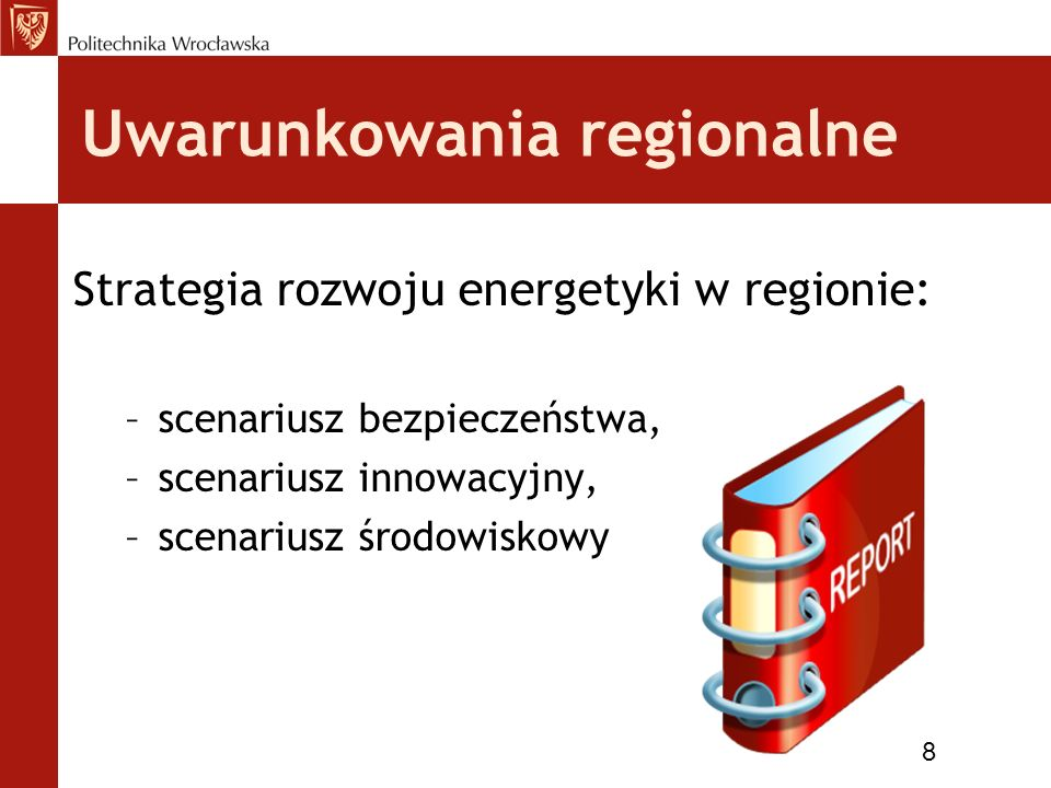 Uwarunkowania regionalne
