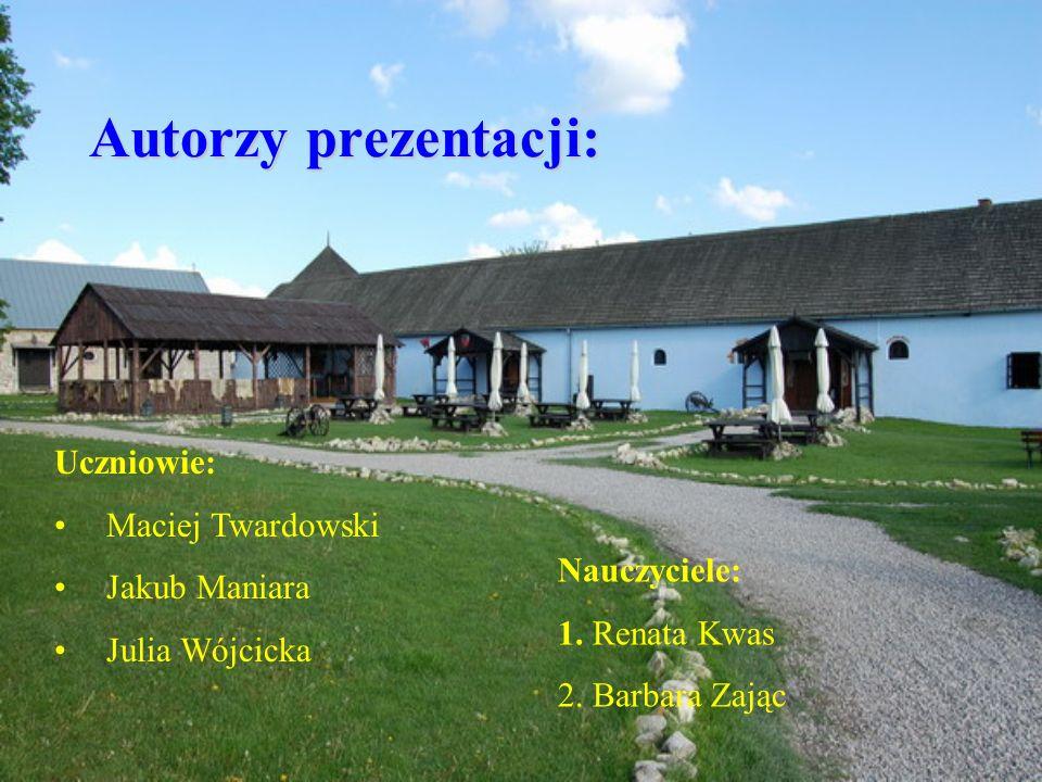 Autorzy prezentacji: Uczniowie: Maciej Twardowski Jakub Maniara