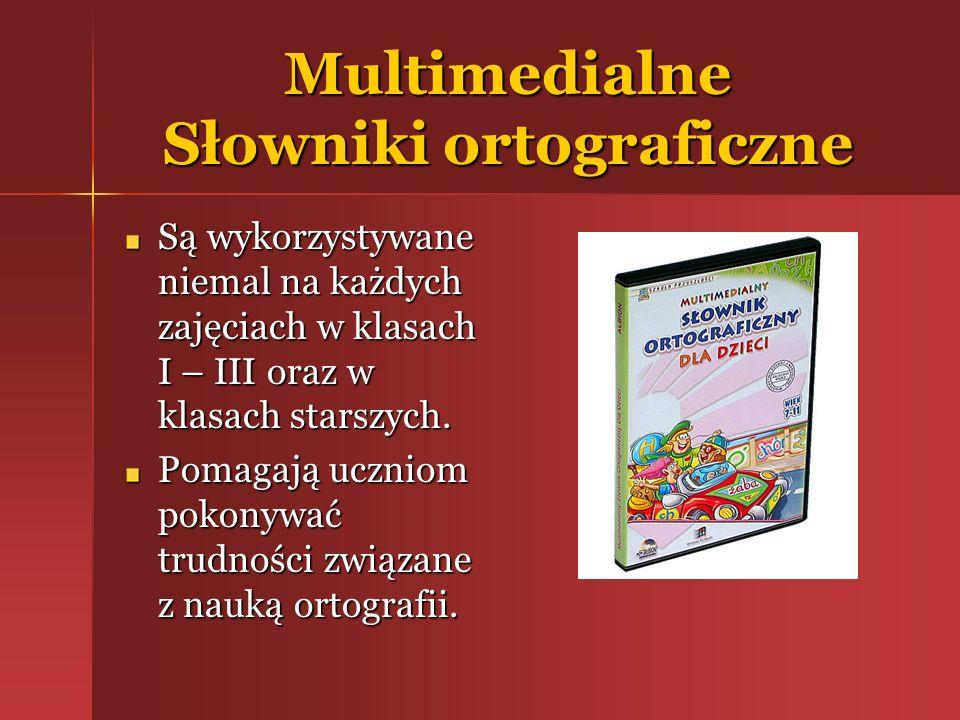 Multimedialne Słowniki ortograficzne