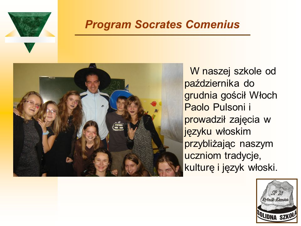 Program Socrates Comenius