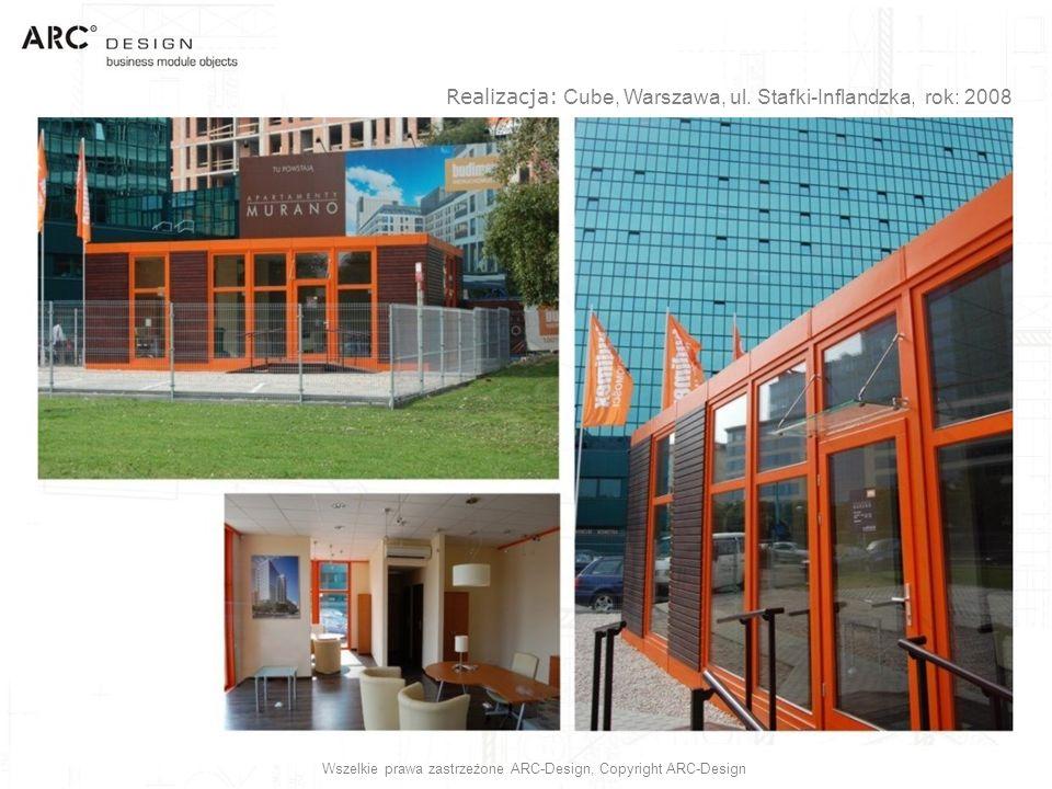 Realizacja: Cube, Warszawa, ul. Stafki-Inflandzka, rok: 2008
