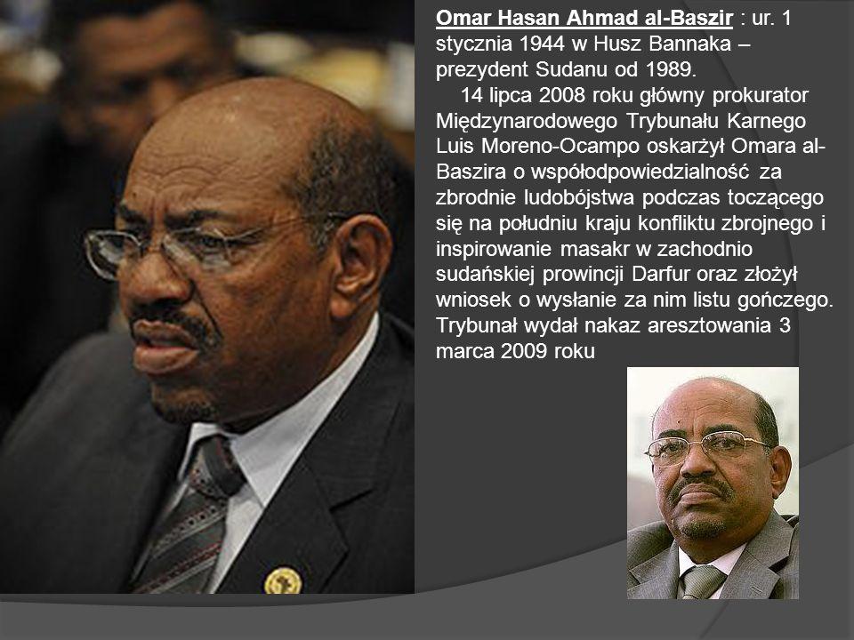 Omar Hasan Ahmad al-Baszir : ur