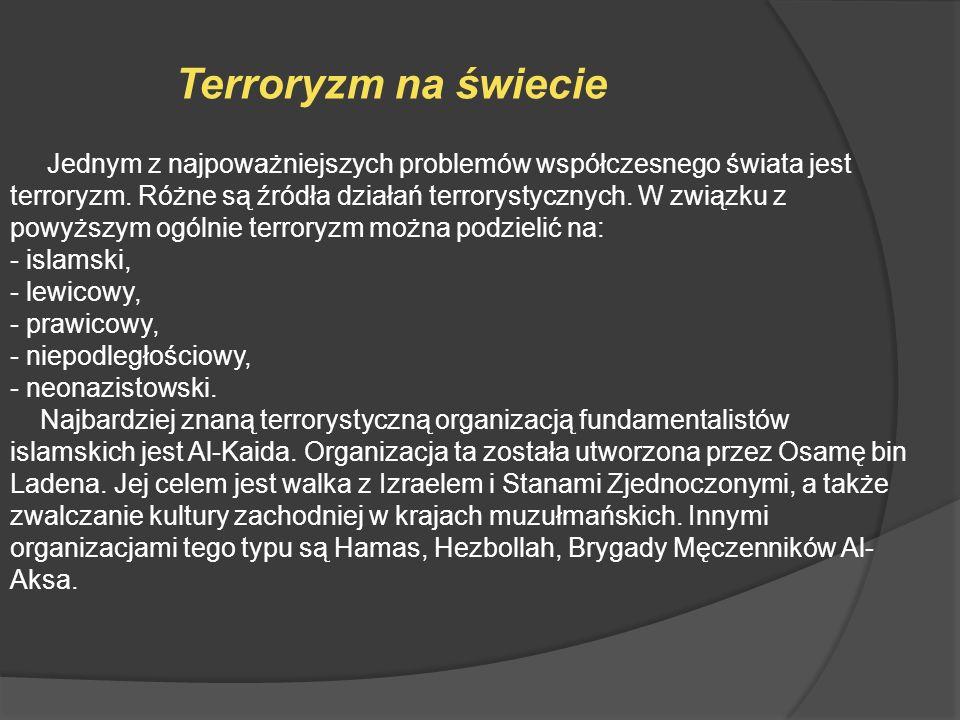 Terroryzm na świecie
