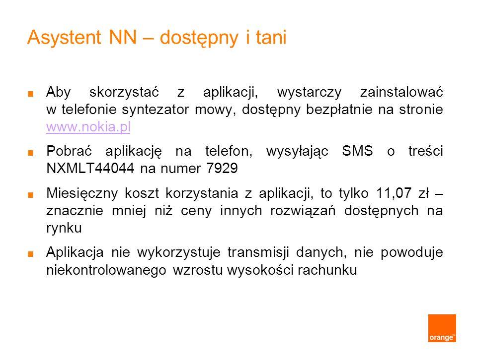 Asystent NN – dostępny i tani