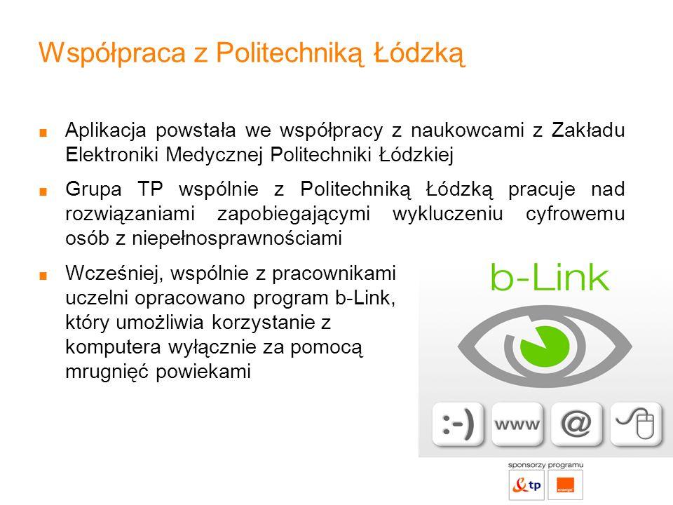 Współpraca z Politechniką Łódzką