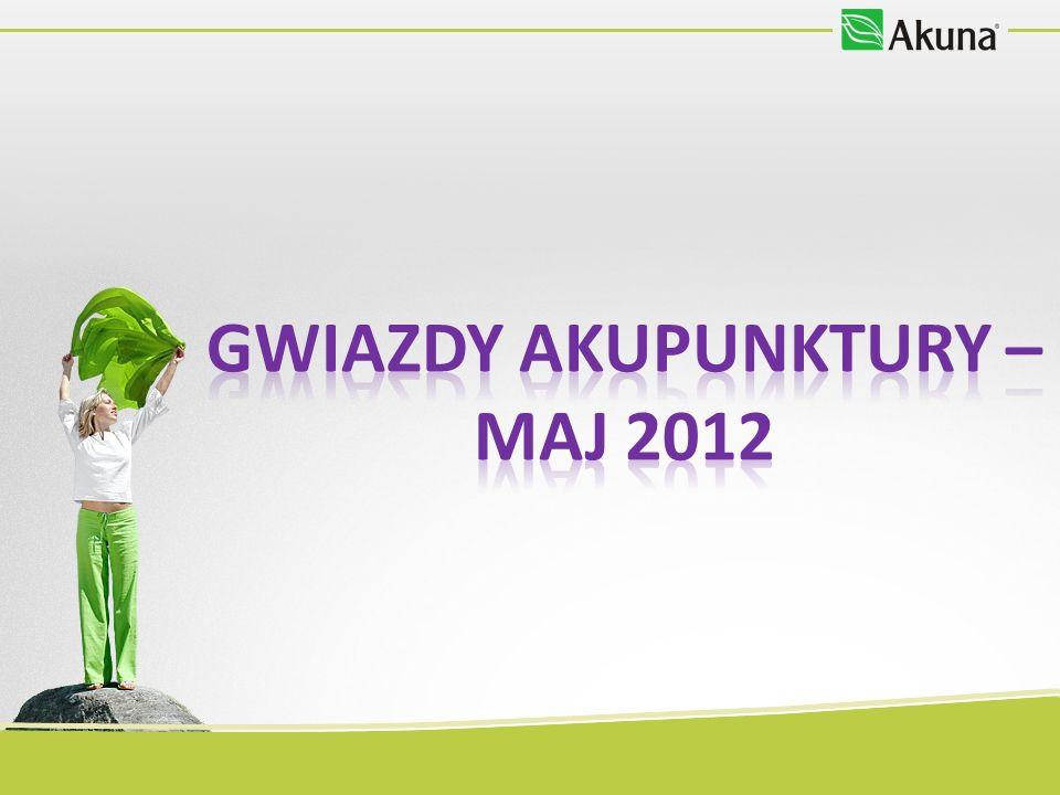 GWIAZDY AkupunkturY – MAJ 2012