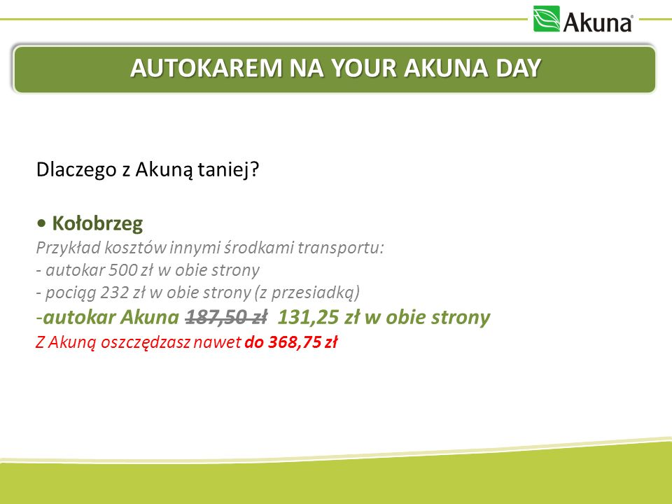 AUTOKAREM NA YOUR AKUNA DAY