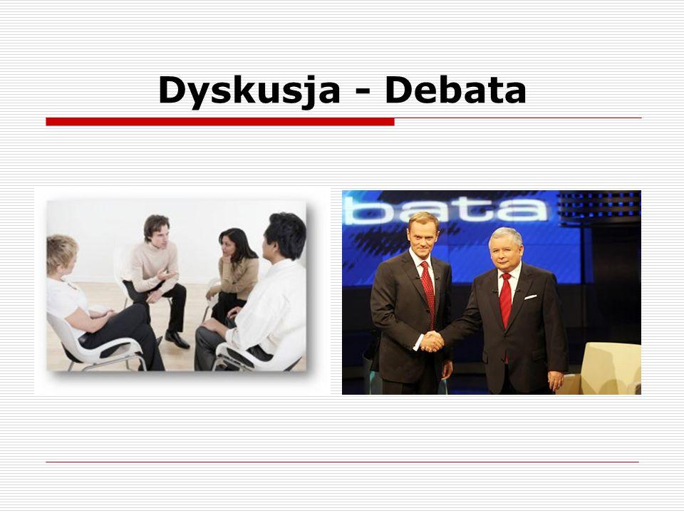Dyskusja - Debata