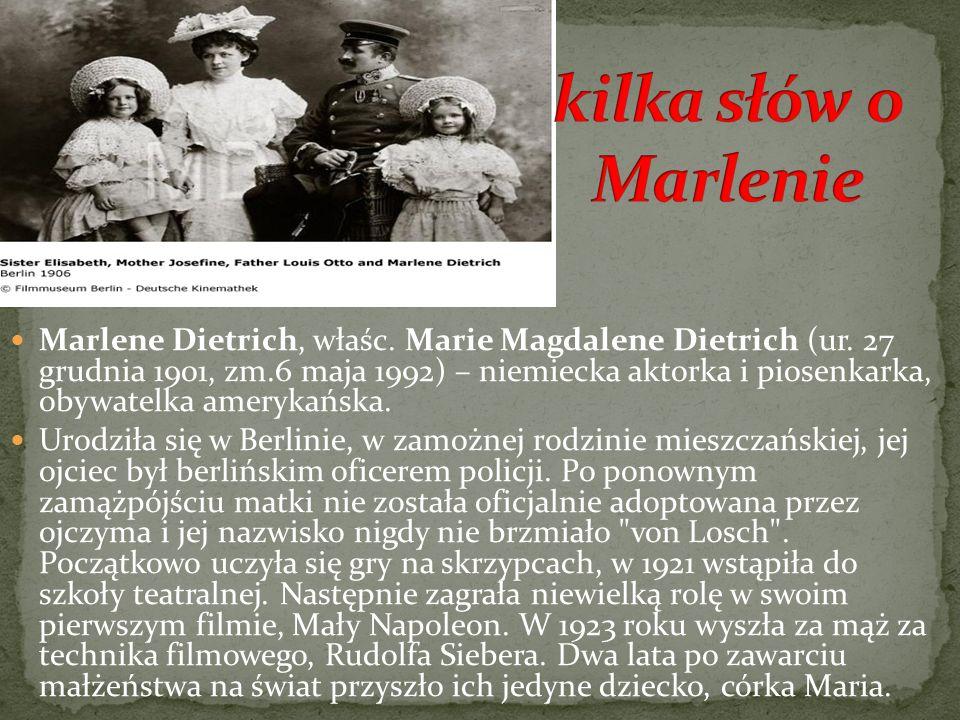 kilka słów o Marlenie