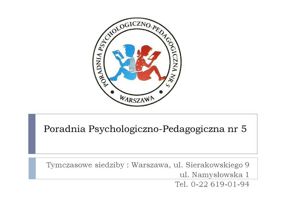 Poradnia Psychologiczno-Pedagogiczna nr 5
