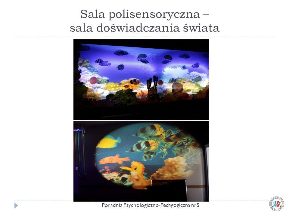 Sala polisensoryczna – sala doświadczania świata